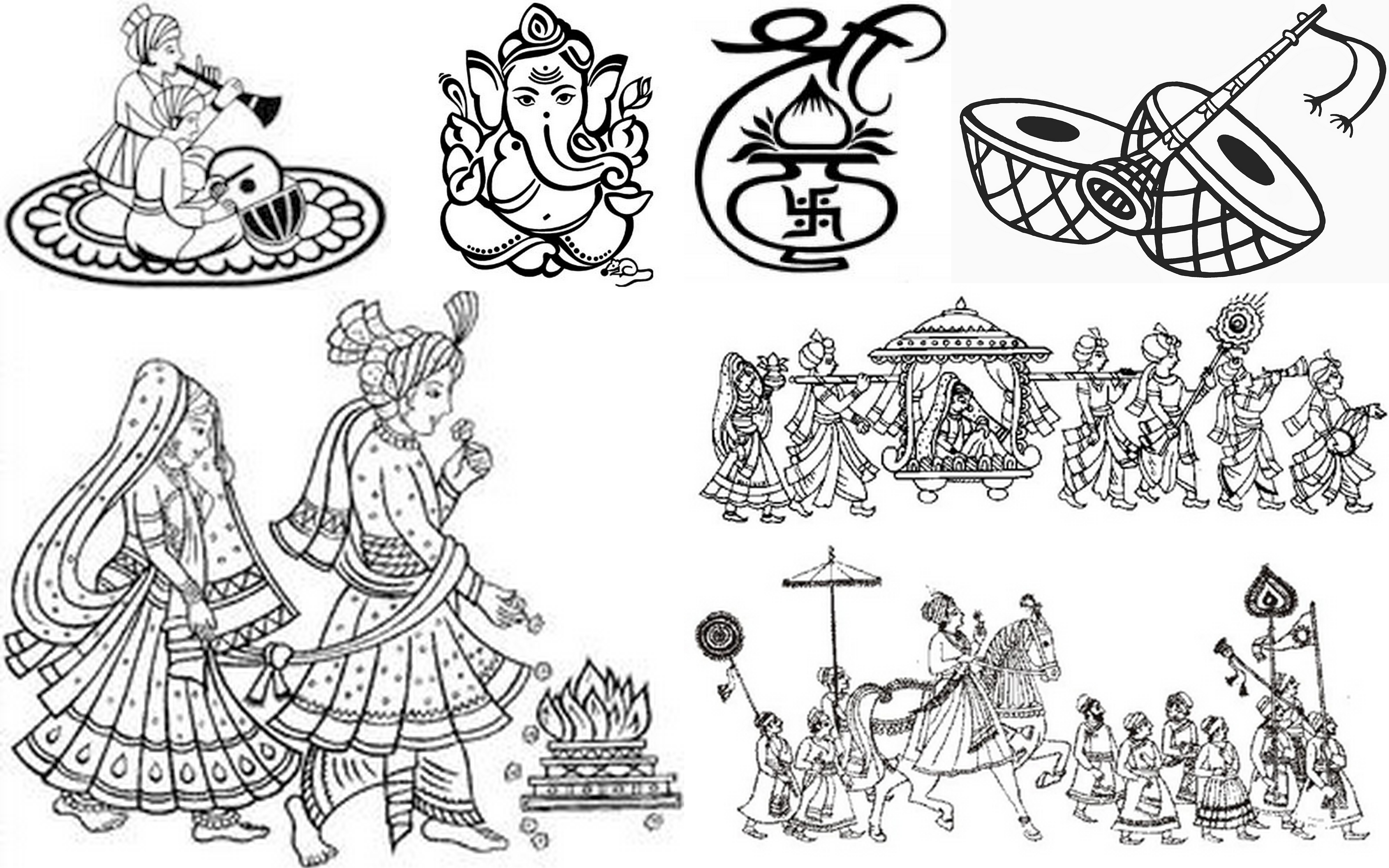 Indian Wedding Doli Clipart Images 7 Clipart Station