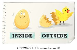inside and outside clipart 3
