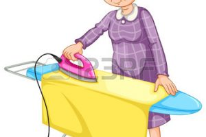 ironing clothes clipart 12