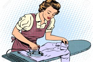 ironing clothes clipart 4
