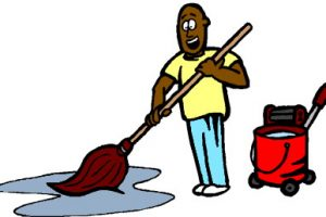 janitor clipart 9