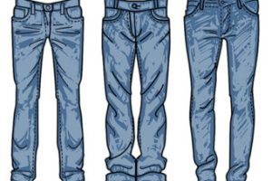 jeans clipart 3