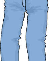 jeans clipart 6