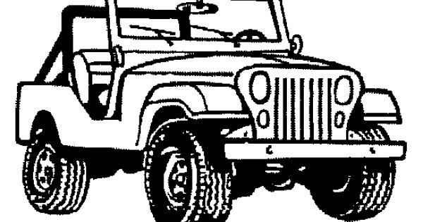 Jeep Clipart Black And White 4 Clipart Station