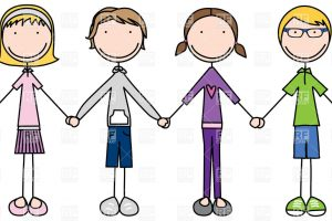 join hands clipart 5