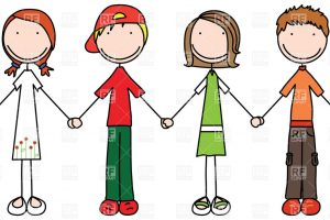 join hands clipart 7