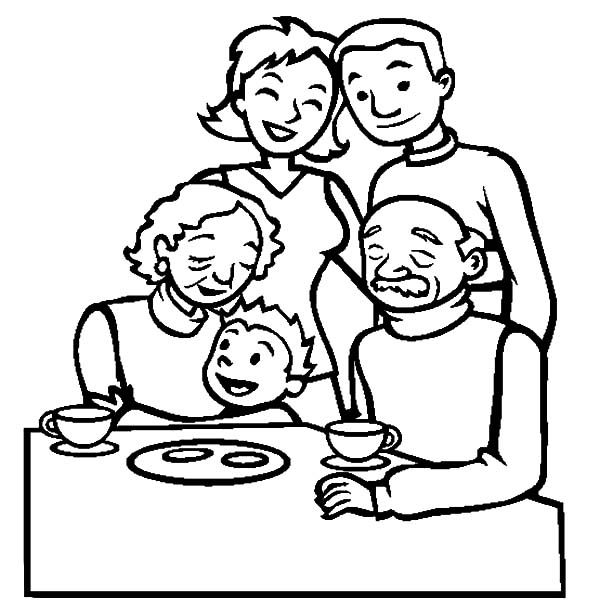 Printable Coloring Pages For Kids Kitchen