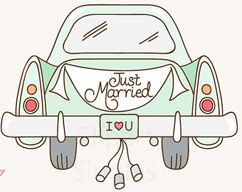 just married auto clipart 13 » clipart station