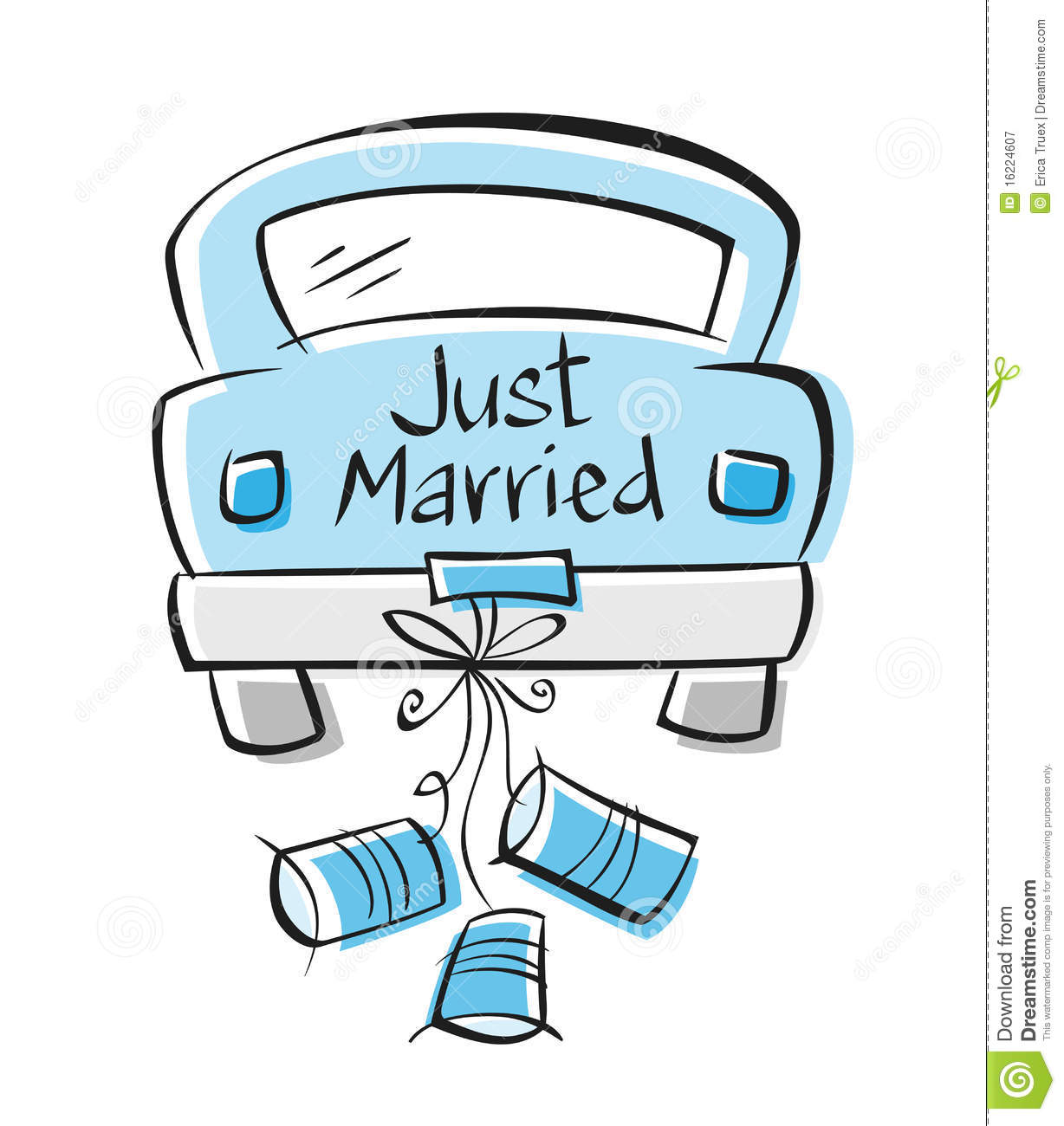 just married auto clipart 6 » clipart station