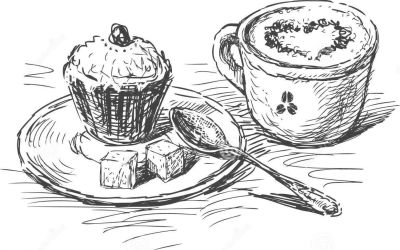 List Of Synonyms And Antonyms Of The Word Kaffee Und Kuchen Comic