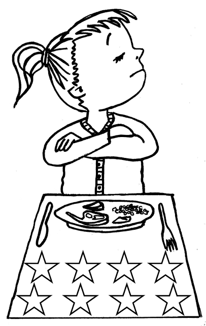 Kids bad habits clipart black and white 1 » Clipart Station
