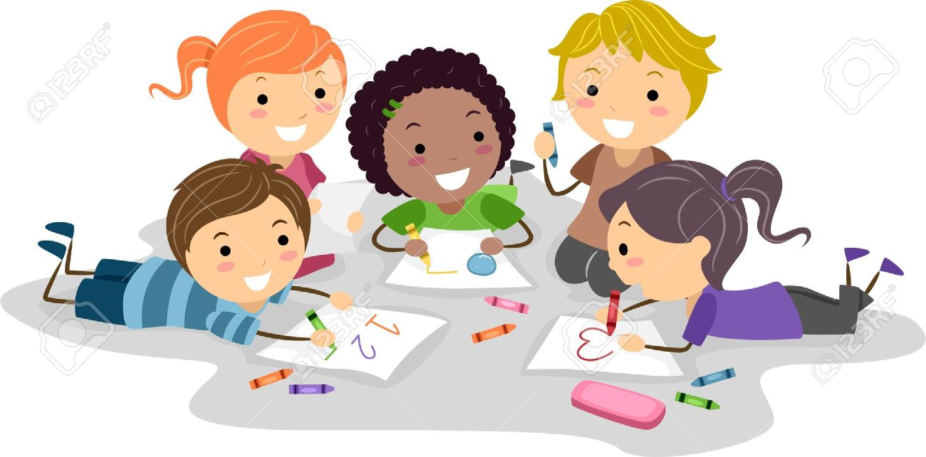 kids drawing clipart 8 - Kids Drawing Pic