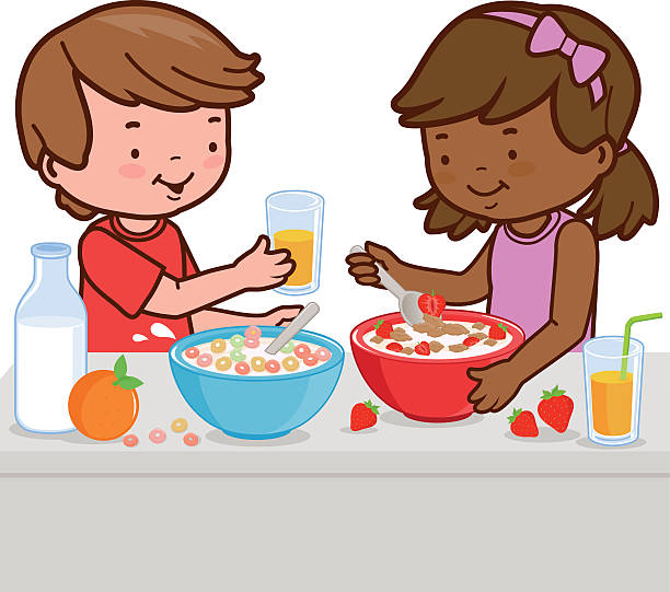 Kids eating clipart 7 » Clipart Station