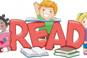 kids reading clipart 3