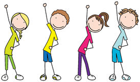 Kids stretching clipart 5 » Clipart Station