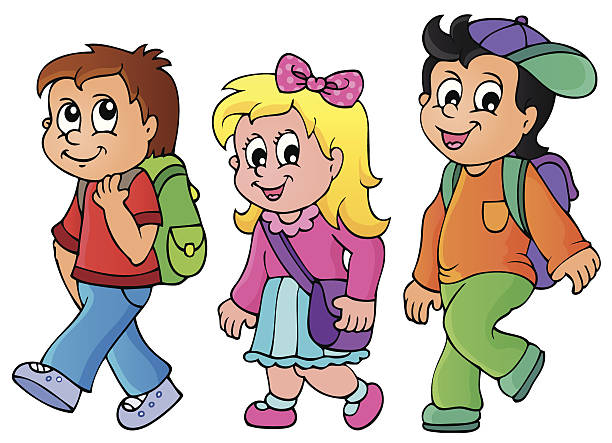 kids walking clipart 4 clipart station rh clipartstation com walking clip art free walking clipart images
