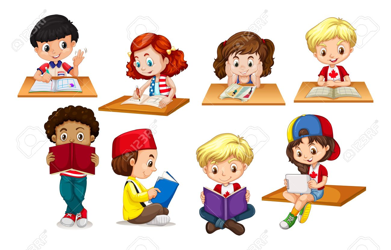 kids writing clipart 4 » clipart station