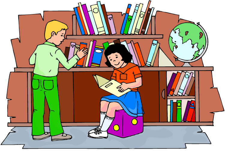 library clipart title