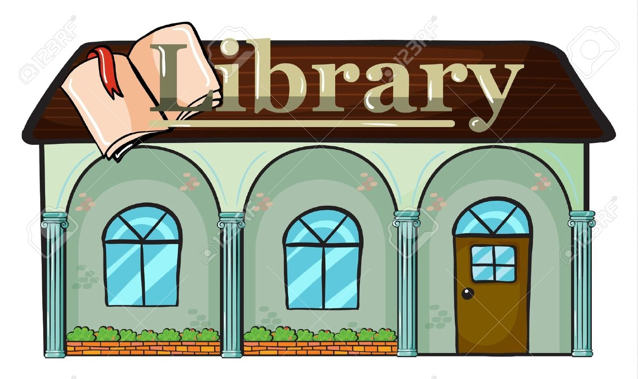 library clipart station