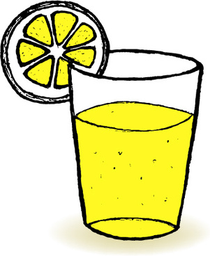 A Glass Of Water Drawing