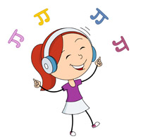 girl dancing while listening music clipart clipart station rh clipartstation com picture of a girl dancing clipart blonde girl dancing clip art