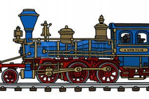 locomotive clipart 1
