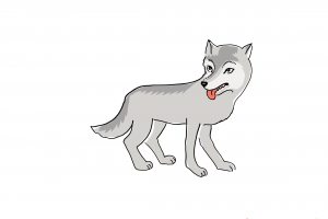 loup clipart 1