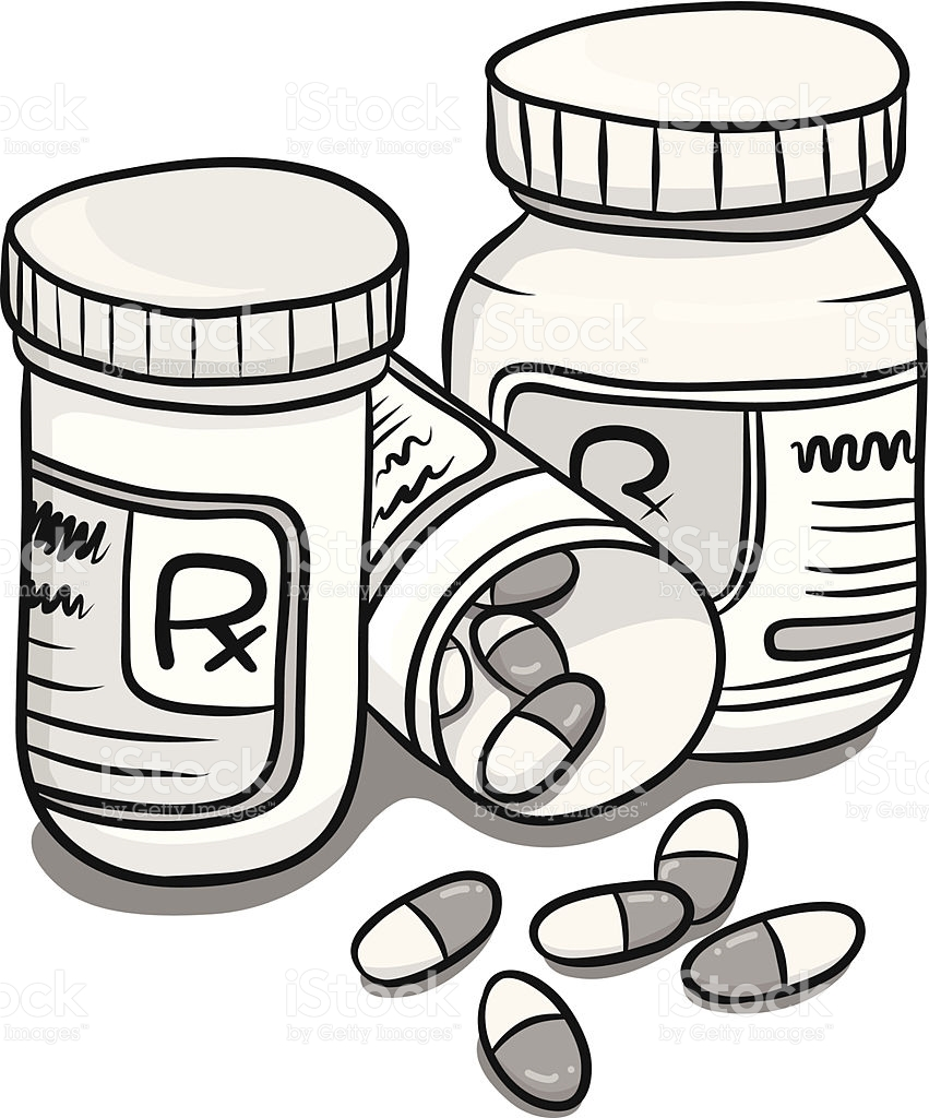 medicine clipart black and white 7 clipart station rh clipartstation com RX Bottle Clip Art medicine bottle clipart black and white
