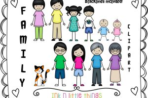 members of the family clipart 9
