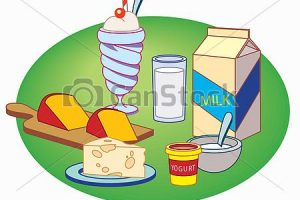 milk products clipart 5