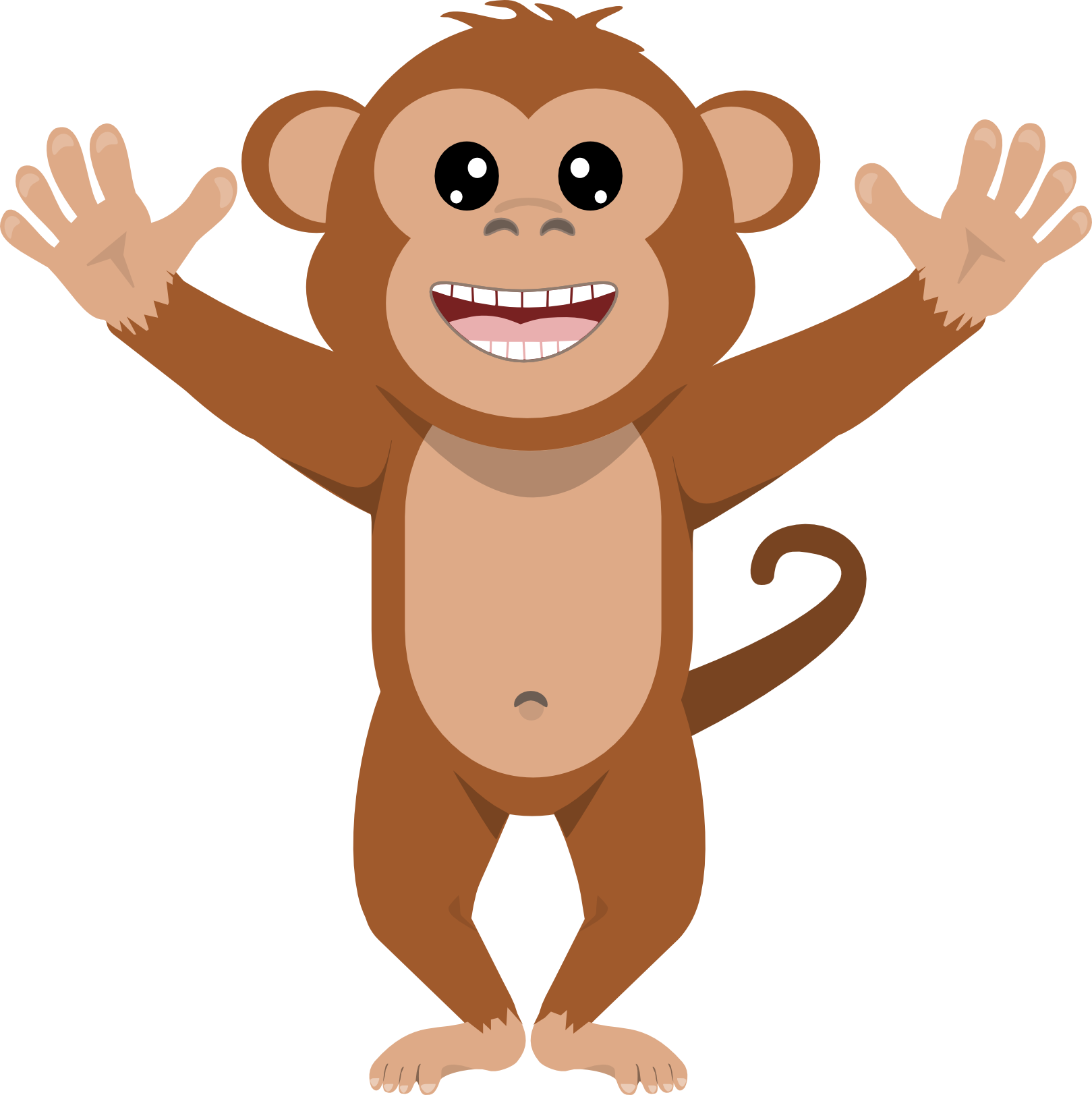 monkey clipart png 5  u00bb clipart station 5 monkeys clip art free images 5 monkeys clipart