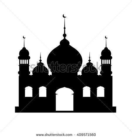 Mosque clipart black and white 7 » Clipart Station