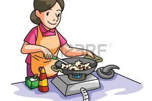 mother cooking clipart 5