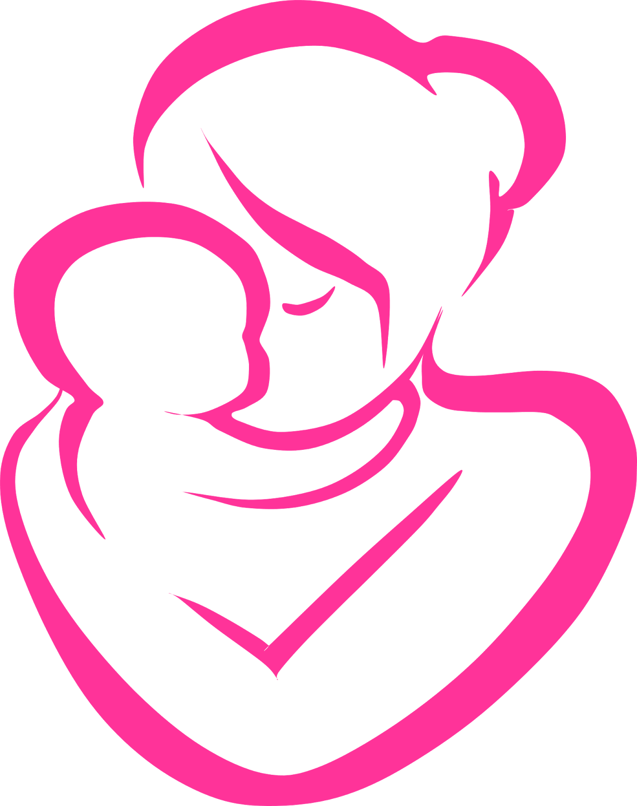 mother with child clipart clipart station rh clipartstation com
