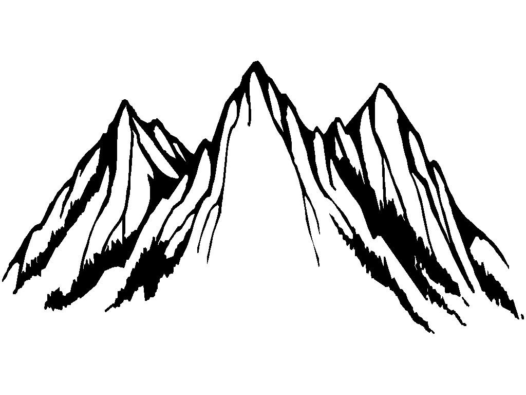 mountain clipart black and white 2 clipart station rh clipartstation com mountain clip art free download mountain clip art images
