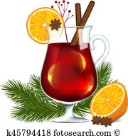 mulled wine clipart 12