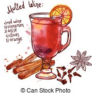 mulled wine clipart 3