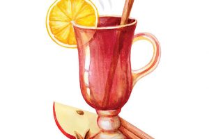 mulled wine clipart 5