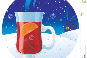 mulled wine clipart 7