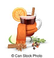 mulled wine clipart 9
