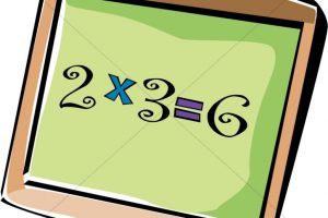 multiplication clipart 6