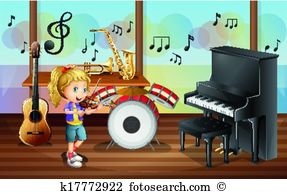 music room clipart 9
