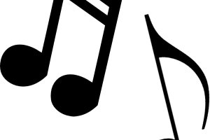 musical notes clipart 2