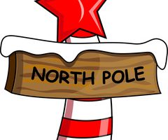 north pole clipart 1