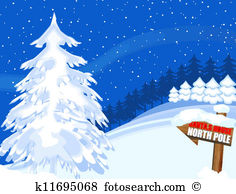 north pole clipart 2