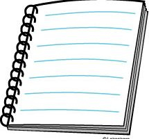 note book clipart 2