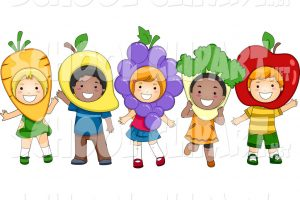 nutrition month background clipart 1