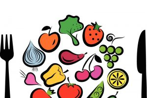 nutrition month background clipart 8