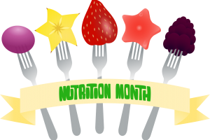 nutrition month clipart 1