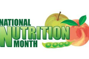 nutrition month clipart